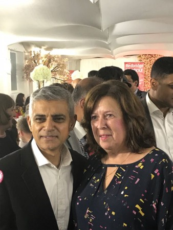 Sadiq Khan at the Ilford Labour Party Dinner